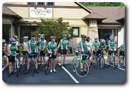 Southside-Cycling-Club-in-front-of-Mucklows-Fine-Jewelry