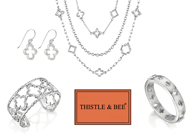 Thistle and Bee jewelry