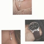 Holiday 2010 Brochure - Mucklows Fine Jewelry, Close up of earrings necklace and watch on a couple