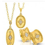 Various yellow gold jewelry from Gabriel & Co - Mucklows Fine Jewelry, 1103 Crosstown Court, Peachtree City, GA 30269