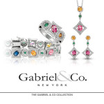 Various semi precious jewelry from Gabriel & Co - Mucklows Fine Jewelry, 1103 Crosstown Court, Peachtree City, GA 30269