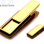 18K Gold Plated M-Clip money clip - Mucklows Fine Jewelry, 1103 Crosstown Court, Peachtree City, GA 30269