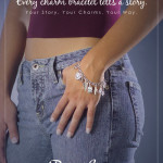 Model wearing a charm bracelet - Rembrandt Charms - Mucklows Fine Jewelry, 1103 Crosstown Court, Peachtree City, GA 30269