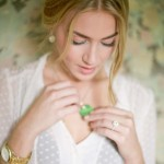 Model wearing jewelry - Mucklows Fine Jewelry, 1103 Crosstown Court, Peachtree City, GA 30269