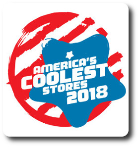 America's Coolest Stores Award 2018